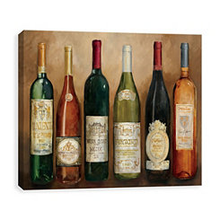 Wine Selection Canvas Art Print