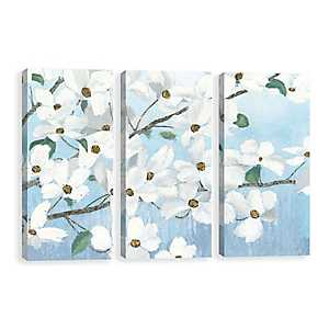 Graceful Touch Canvas Art Prints, Set of 3