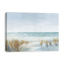 Soft Beach Canvas Art Print