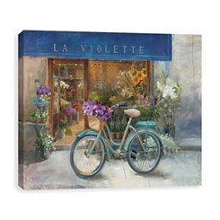 La Violette Grand Canvas Art Print
