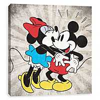 Minnie's Kiss Canvas Art Print