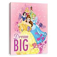 Dream Big Princesses Canvas Art Print