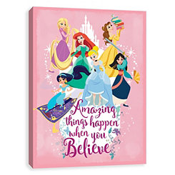 Amazing Things Princesses Canvas Art Print