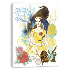True Beauty is Found Within Canvas Art Print