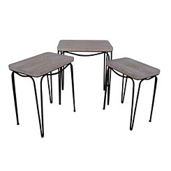 Hairpin Nesting Accent Tables