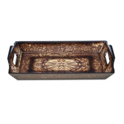 Decorative Rectangular Wood Tray
