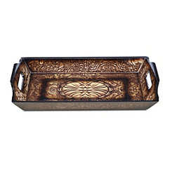 Decorative Rectangular Wood Tray