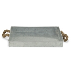 Galvanized Metal Rope Tray