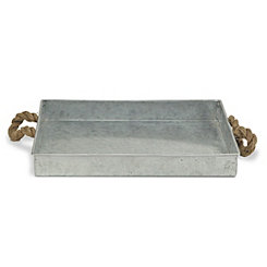 Galvanized Metal Rope Tray