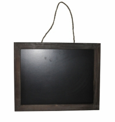 Wood Framed Hanging Chalkboard