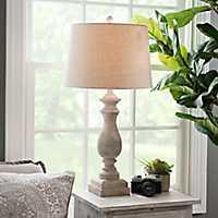 Antique Cream Livy Table Lamp