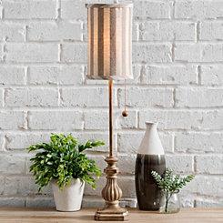 Kerala Candlestick Buffet Lamp