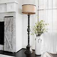 Distressed Oliver Baluster Floor Lamp
