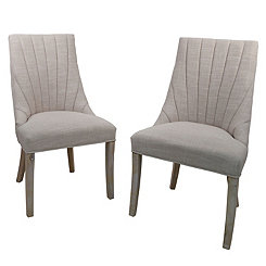 Sand Calista Side Chairs, Set of 2