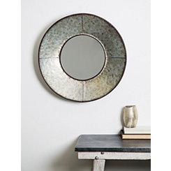 Galvanized Circular Mirror