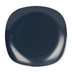 Navy Square Dinner Plate