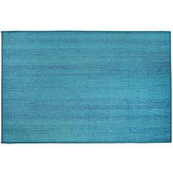 Textured Ocean Blue 2-pc. Washable Runner