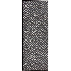 Black Prism 2-pc. Washable Runner
