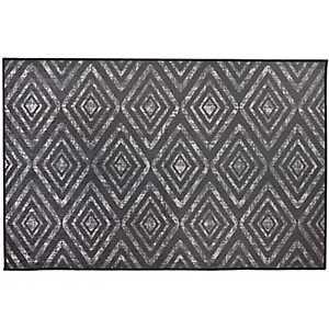 Black Prism 2-pc. Washable Scatter Rug