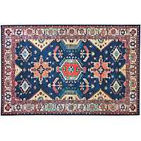 Sapphire Noor 2-pc. Washable Scatter Rug