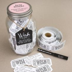 Pink Baby Wish Jar Set