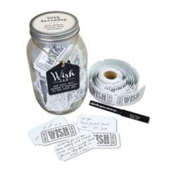 50th Birthday Wish Jar Set