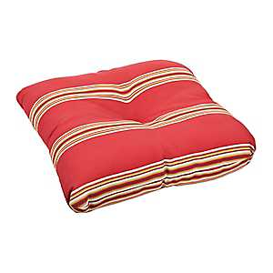 Chili Cabana Stripe Outdoor Cushion