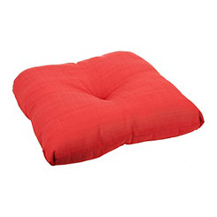 Solid Chili Pepper Outdoor Seat Cushion