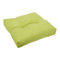 Solid Verde Outdoor Seat Cushion