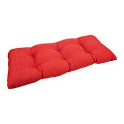Chili Red Settee Cushion