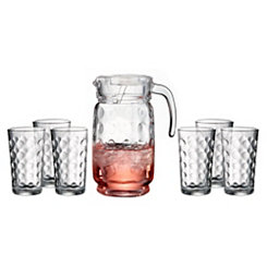Provence 7-pc. Glass and Pitcher Set