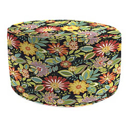Musgrave Jungle Round Outdoor Pouf
