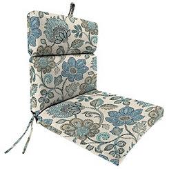 Busan Denim Outdoor Dining Chair Cushion