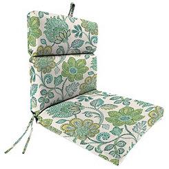 Busan Juniper Chaise Outdoor Lounge Cushion