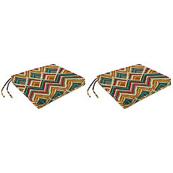 On the Rise Outdoor Seat Cushions, Set of 2