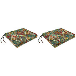 Boho Passage Outdoor Seat Cushions, Set of 2