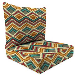 On the Rise 2-pc. Outdoor Chair Cushion Set