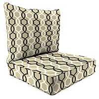 Cestina Tuxedo 2-pc. Outdoor Chair Cushion Set