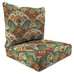 Boho Passage 2-pc. Outdoor Chair Cushion Set