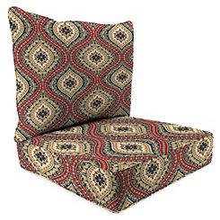 Jasmina 2-pc. Outdoor Chair Cushion Set