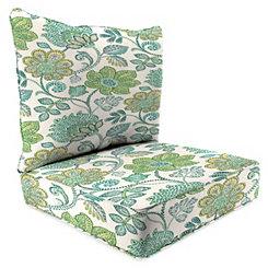 Busan Juniper 2-pc. Outdoor Chair Cushion Set