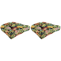 Musgrave Outdoor 18 in. Seat Cushions, Set of 2