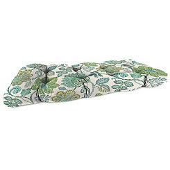 Busan Juniper Wicker Loveseat Outdoor Cushion