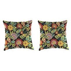 Musgrave Jungle Outdoor Pillows, Set of 2