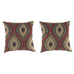 Jasmina Lakewood Outdoor Pillows, Set of 2