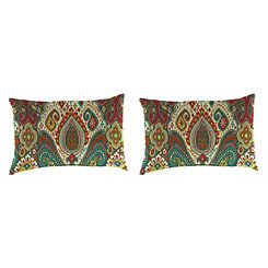 Boho Passage Outdoor Accent Pillows, Set of 2