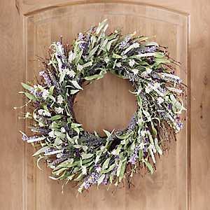Lavender Mix Wreath