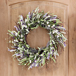 Lavender Mix Wreath