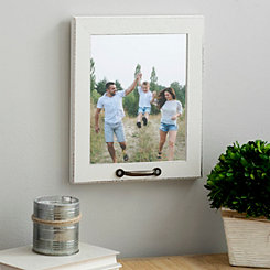 White Windowpane Picture Frame, 8x10