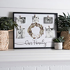 Family Magnolia Clip Collage Frame